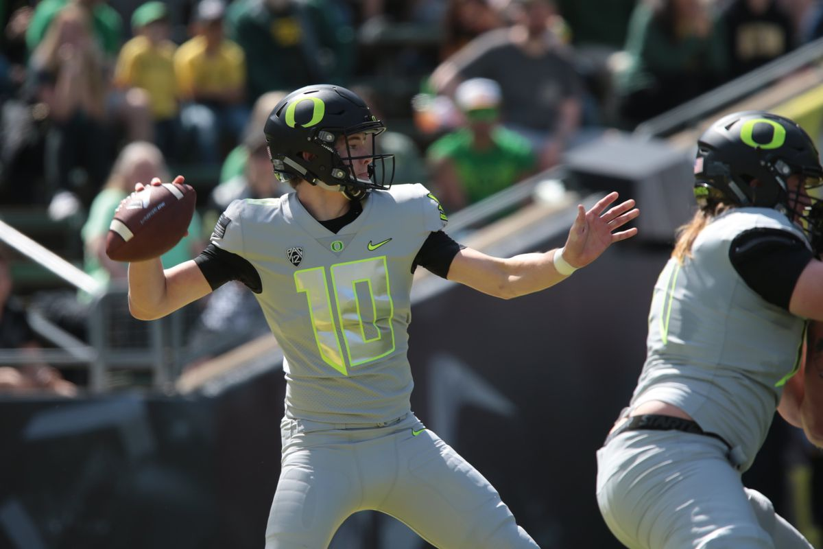 First Oregon Football Depth Chart Of 2017