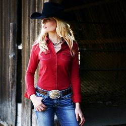 "Jeans to dress like a cowgirl; photo via Ariat/<a href=""http://instagram.com/ariatinternational"">Instagram</a>"
