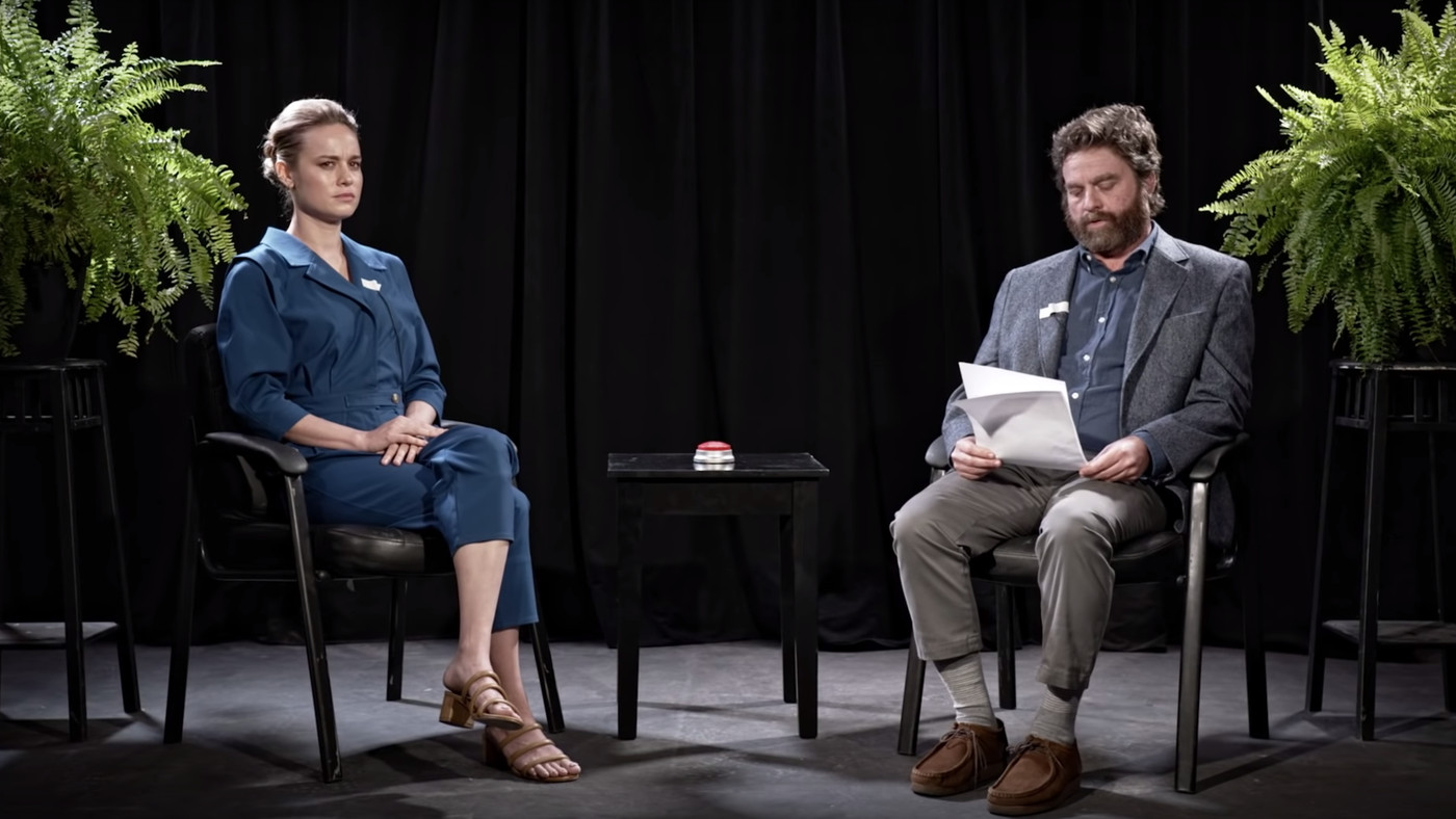 Brie Larson's 'Between Two Ferns: The Movie' Uncut Extended Interview