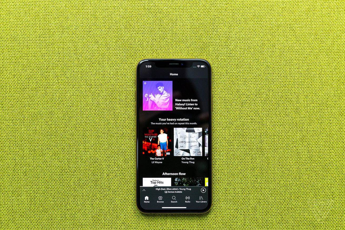 spotify is testing a what s new timeline feature to promote new releases