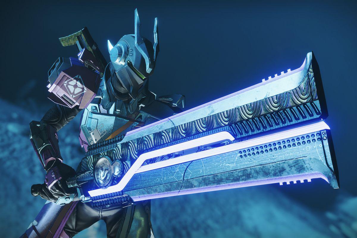 Destiny 2 Dark Drinker 2.0 sword Season of Arrivals
