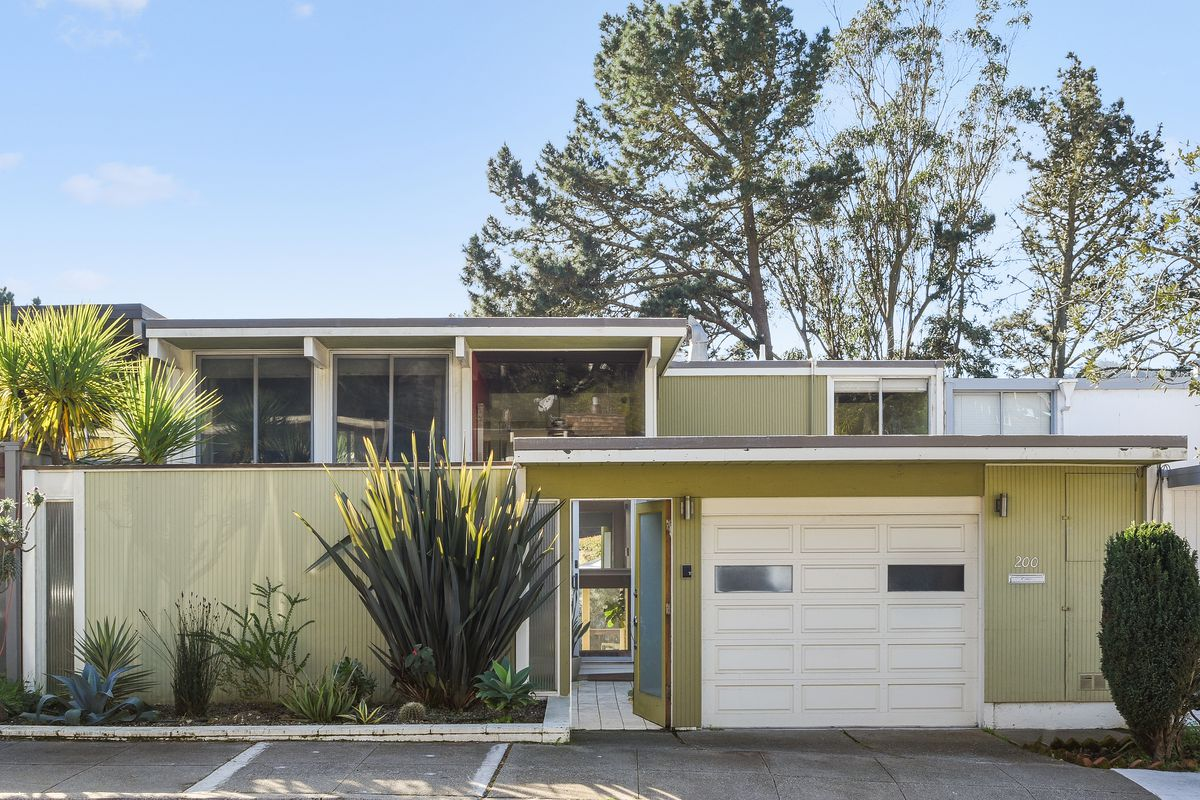 Rare Diamond Heights Eichler Hits Market Asks 2 1