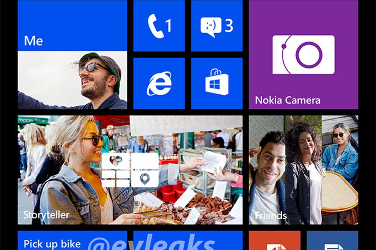 Windows Phone 8 1080p (evleaks)