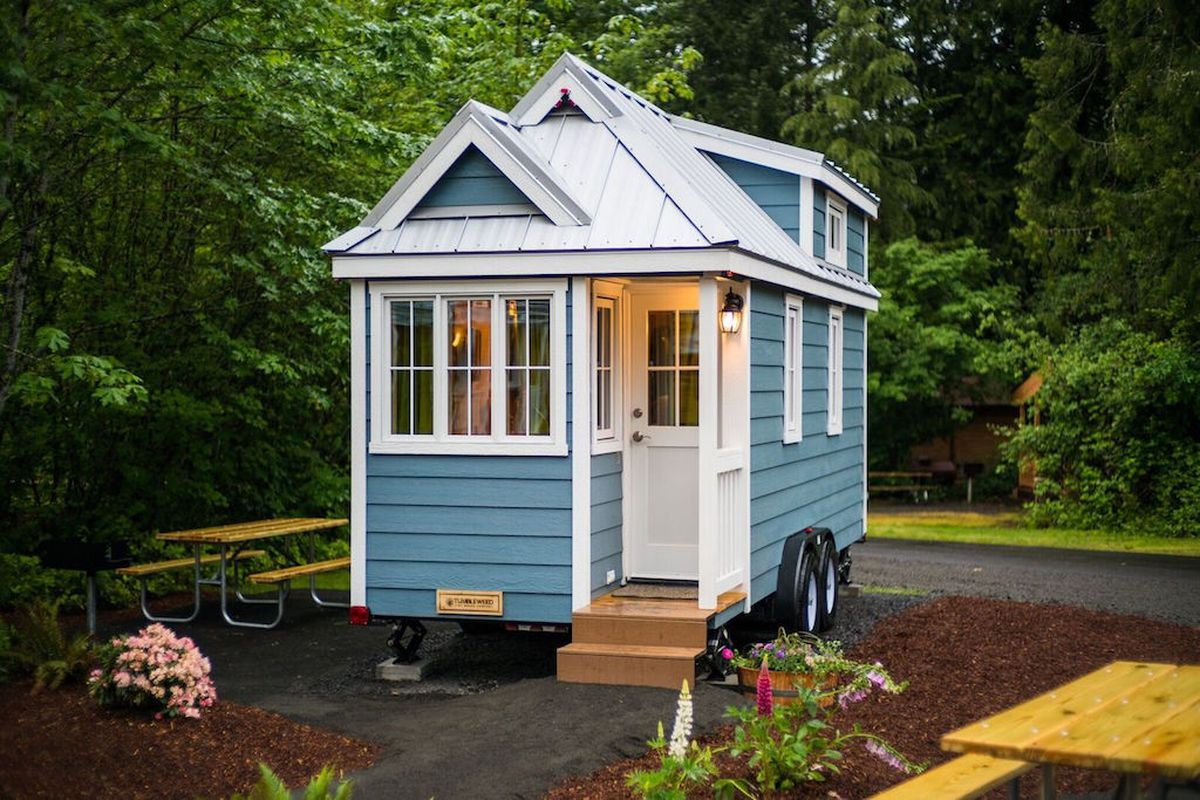 A tiny house supposedly somewhere in Atlanta.