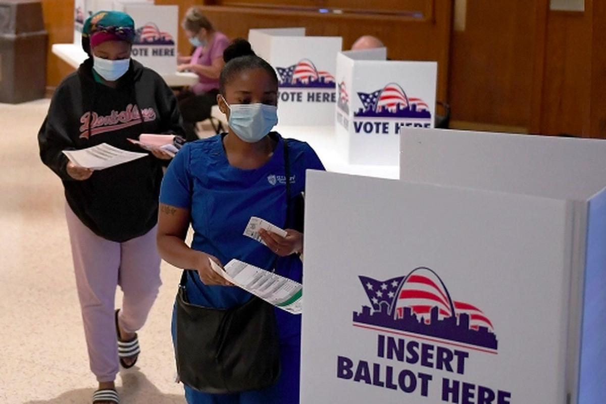 Black people voting
