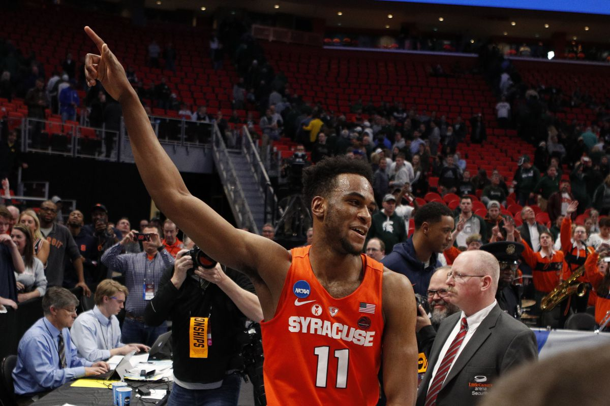 Syracuse Isn T A March Madness Villain This Time It S A Great Story