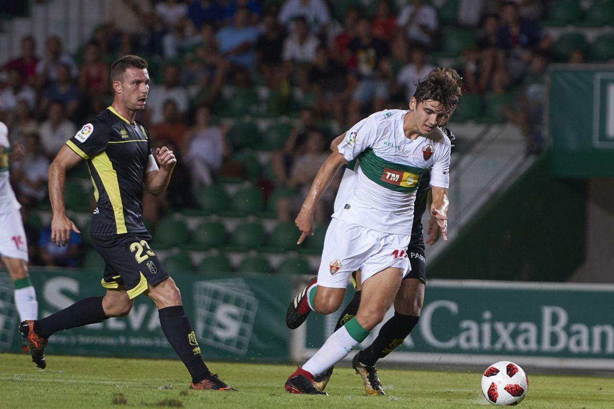 SOCCER: SEP 13 Copa del Rey - Granada at Elche