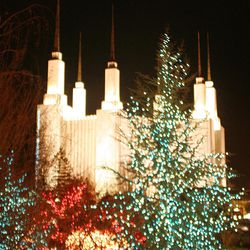 The 28th Annual Festival of Lights at the Washington D.C. Temple Visitors' Center of The Church of Jesus Christ of Latter Day Saints.