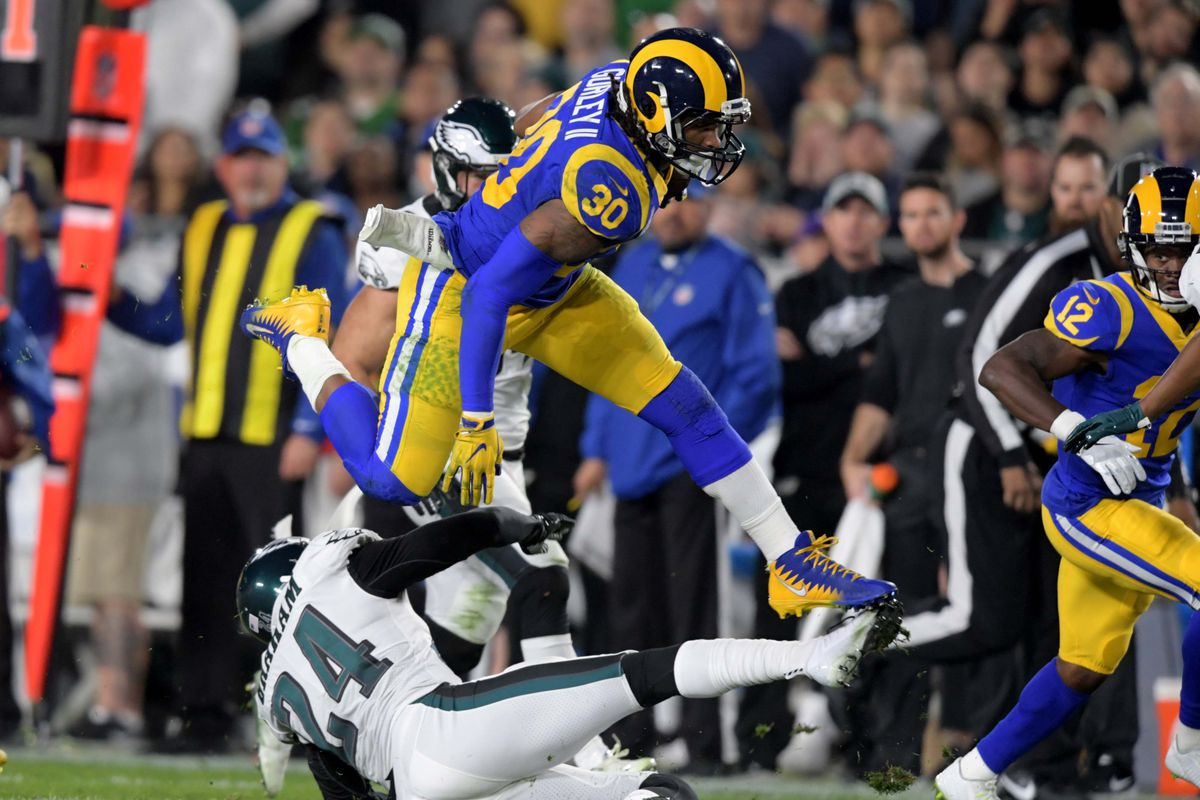 LA Rams at Arizona Cardinals  Todd Gurley sidelined again on Thursday -  Turf Show Times 1db817c2a