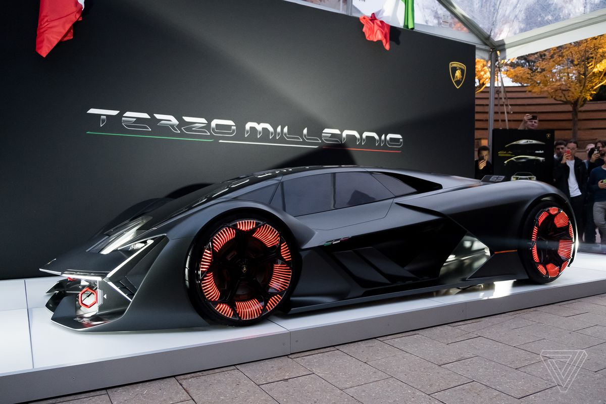 The Lamborghini Terzo Millennio Concept Is A Lightning Strike From