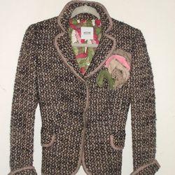 Moschino jacket, $150