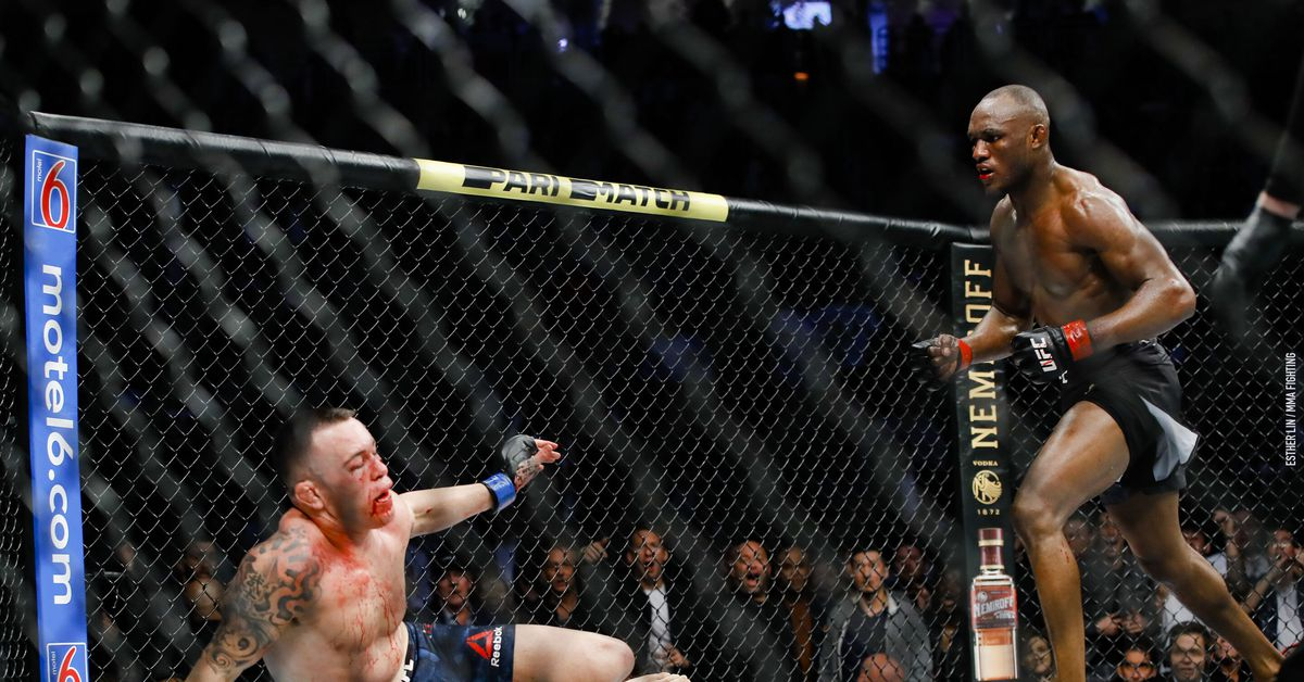 Kamaru Usman to Colby Covington: The referee had to 'protect you from yourself so you can live to fight another day'