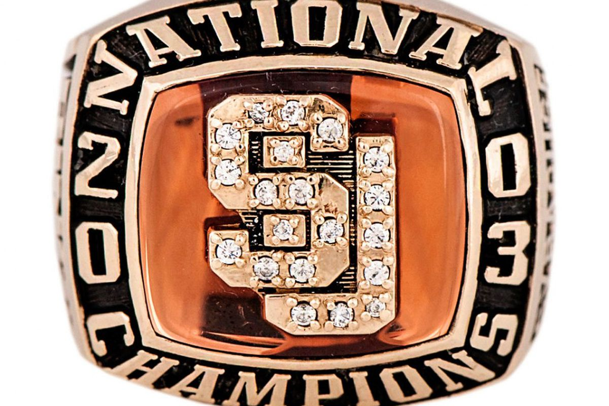 For Sale One Syracuse Basketball National Championship Ring