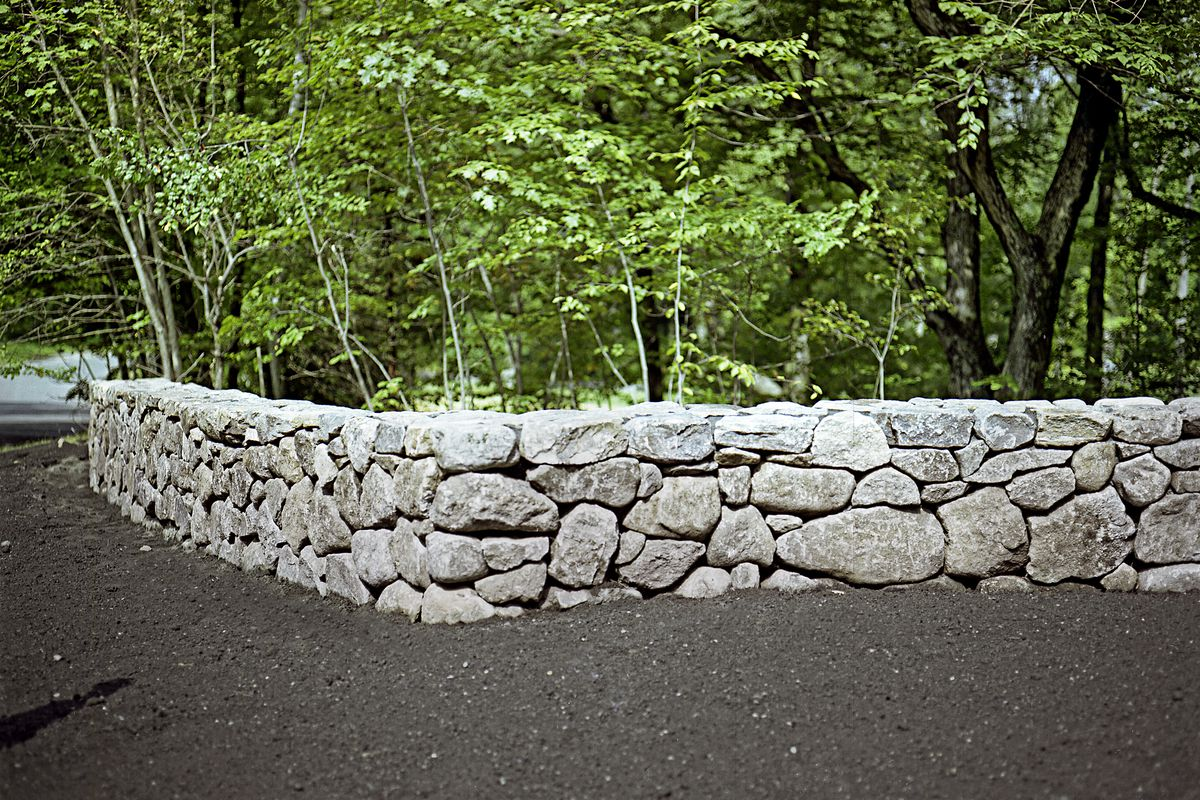 How To Build A Stone Wall This Old House