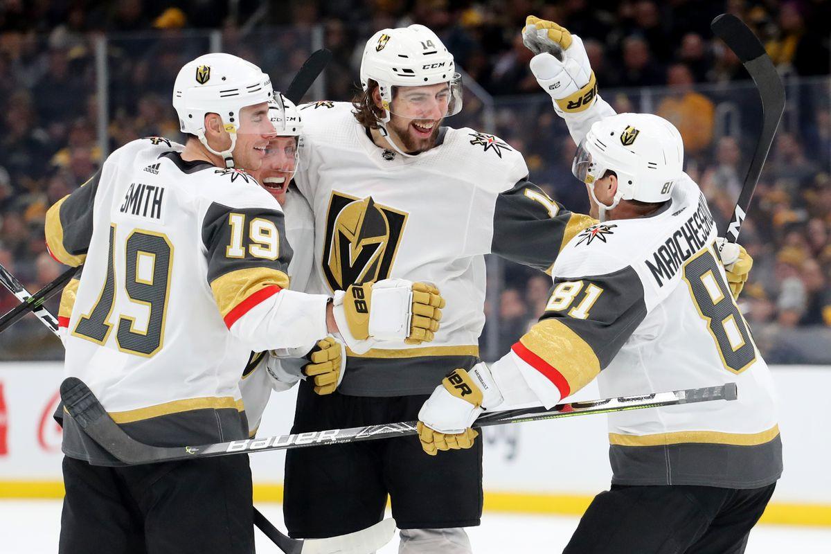 Vegas Golden Knights v Boston Bruins