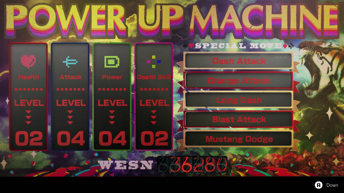 The Power Up Machine in No More Heroes 3