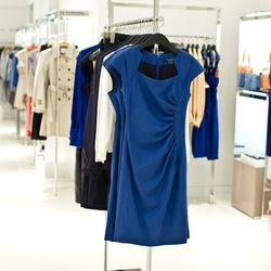 The Tina dress in Regalia, $395