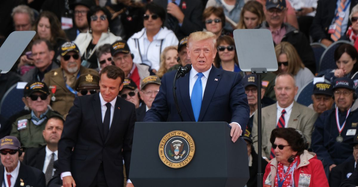 Trump's D-Day speech: he was the wrong man to give it - Vox