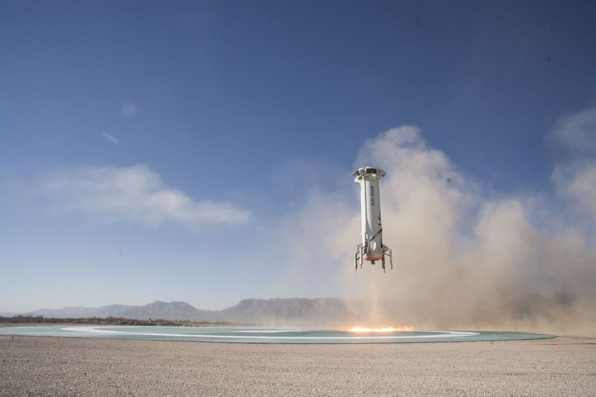 Blue Origin launches and lands its rocket again