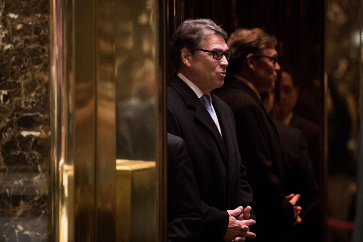 Rick Perry will run the Energy Department he wanted to destroy ...