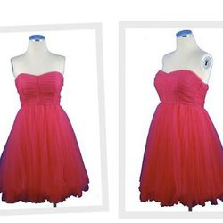"""The hot pink <a href=""""http://www.smakparlour.com/products/Pretty-Tulle-Party-Dress%2C-Hot-Pink.html"""">Pretty Tulle Party Dress</a>, $88 at Smak Parlour."""