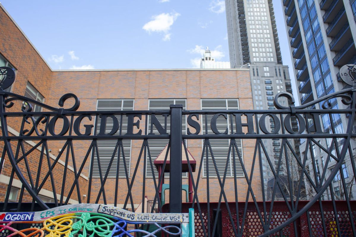 Ogden School on the Near North Side had 560 students in 2001-02 and has 1,111 now, reflecting a trend. Middle-class families on the North Side have been coming back to public elementary schools.