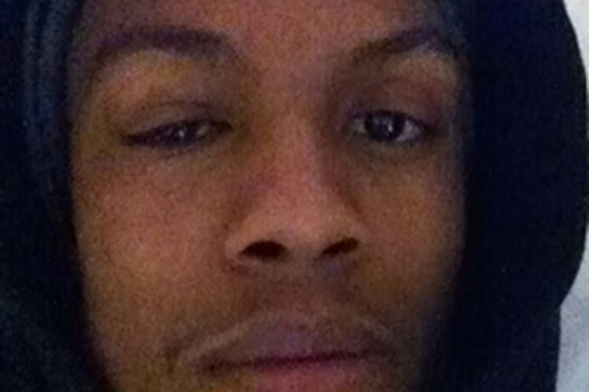 """Dante Cunningham uploaded this <a href=""""http://yfrog.com/gz7jfgrj"""" target=""""new"""">picture of his face</a> to Twitter after the game."""