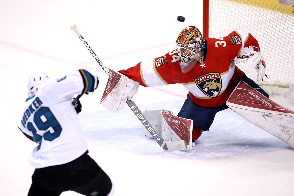NHL: San Jose Sharks at Florida Panthers