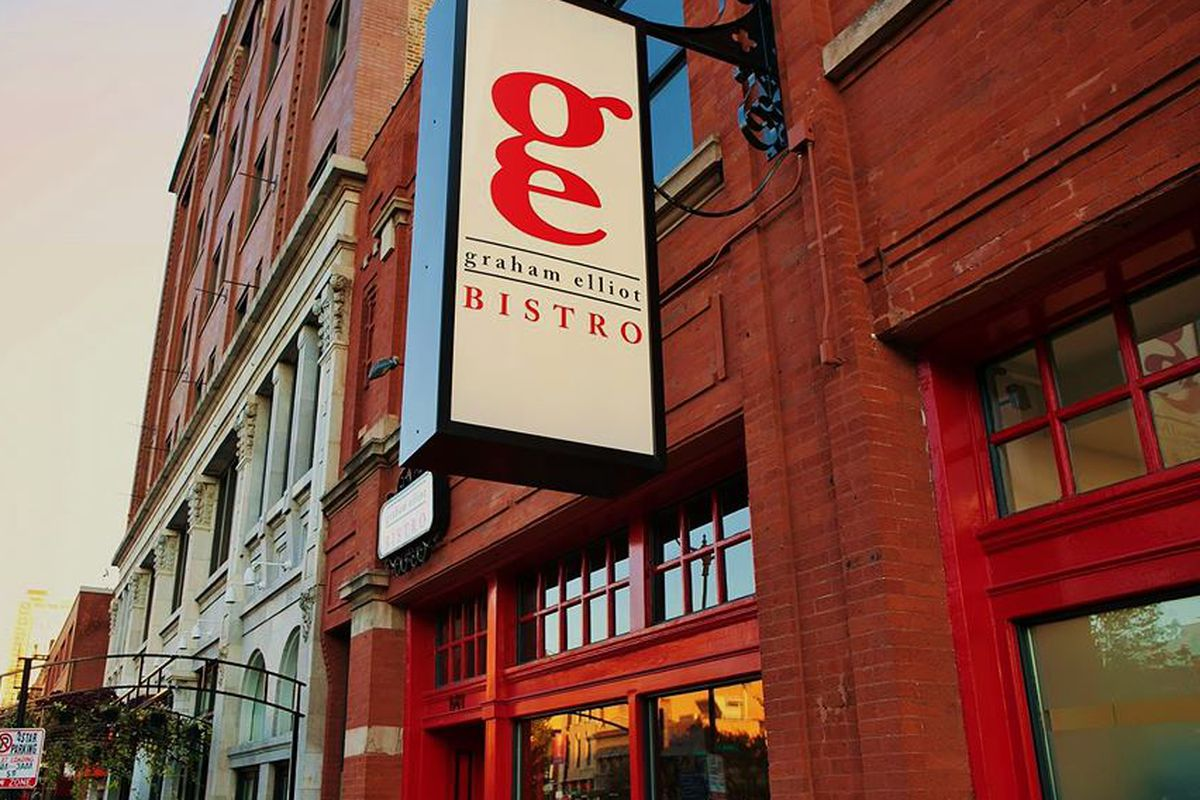 Expect a new name outside and more big changes at Graham Elliot Bistro in a few months