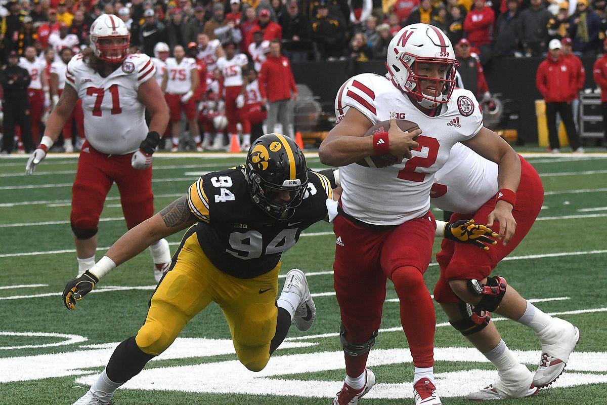 COLLEGE FOOTBALL: NOV 23 Nebraska at Iowa