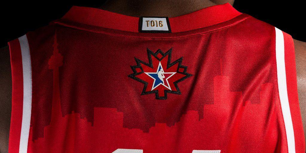 Sports Jersey Week: Toronto Raptors 2016 NBA All-Star Game jersey, back