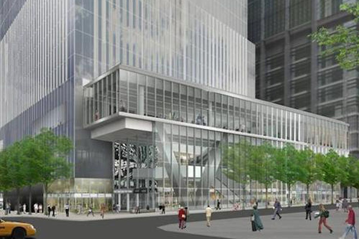 """A rendering of the retail space in 4 World Trade Center; Image via <a href=""""http://www.wtc.com/about/retail"""">WTC</a>"""