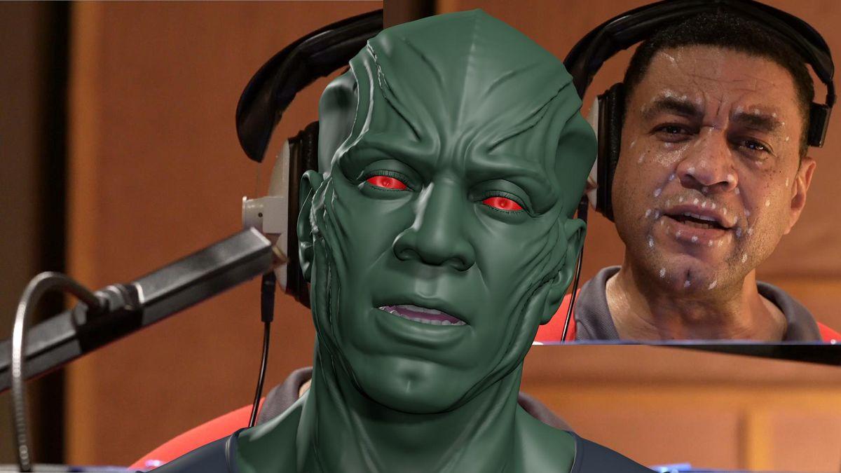 Actor Harry Lennix provides acting catch or Martian Manhunter