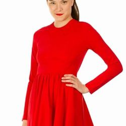 """Zip-back Long-Sleeve Dress, <a href=""""http://www.openingceremony.us/products.asp?menuid=2&designerid=1494&productid=64021"""">$195</a>"""