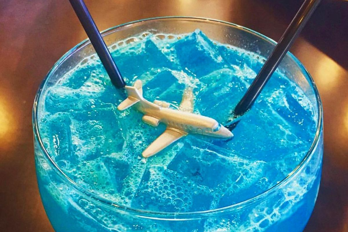 Miracle on the Hudson cocktail Flights Las Vegas