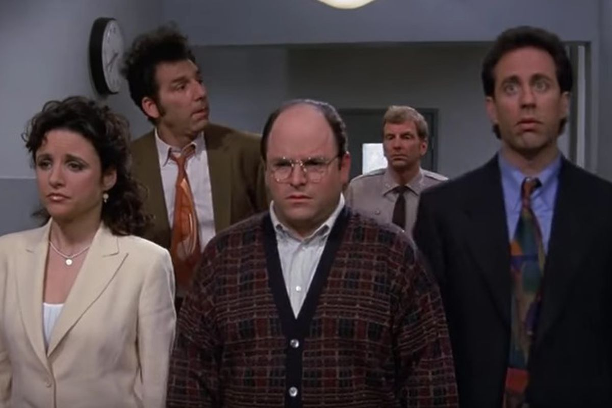 """""""Seinfeld"""" debuted on NBC on July 5, 1989."""