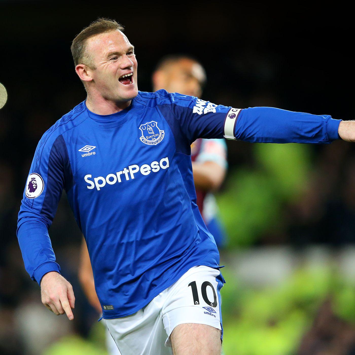Wayne Rooney - an underwhelming end to an underwhelming Everton career -  Royal Blue Mersey