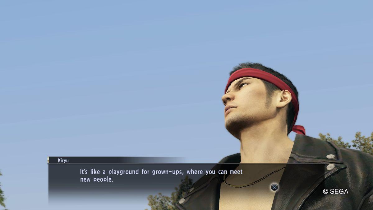 Yakuza 0 - Kazuma Kiryu likes meeting new people