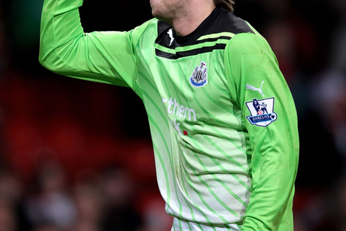 Tim Krul is a world-class save machine.  Is there a weakness to his game?