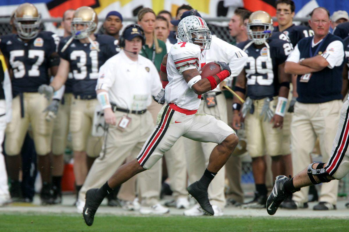 NCAA Football - Tostitos Fiesta Bowl - Notre Dame vs Ohio State - January 2, 2006