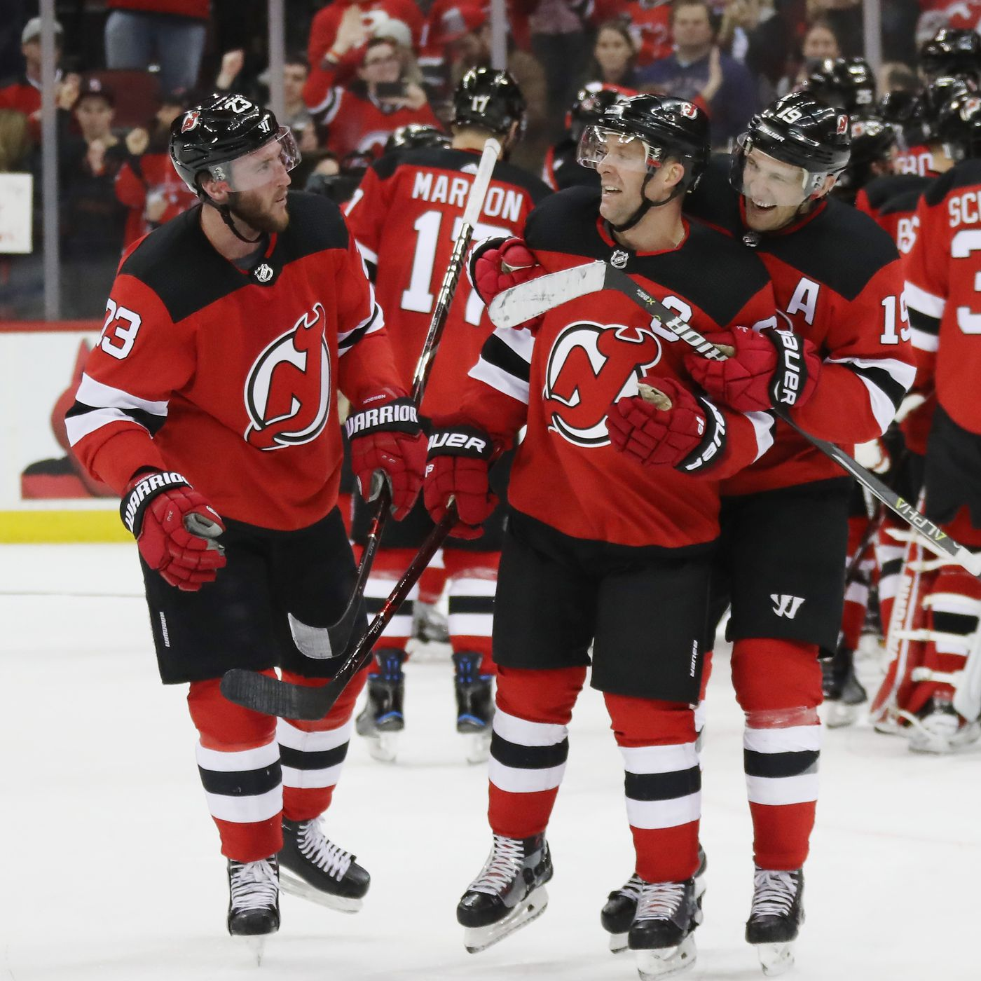 finest selection 0098b bc76f Clinched! New Jersey Devils Secure First Playoff Spot since ...