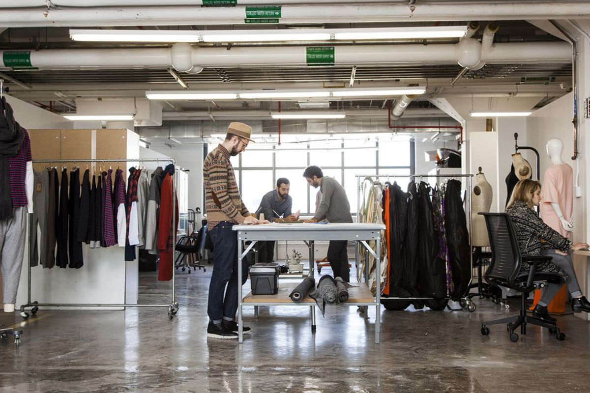 Pratt Institute Hops On New York S Fashion Incubator Train Racked Ny