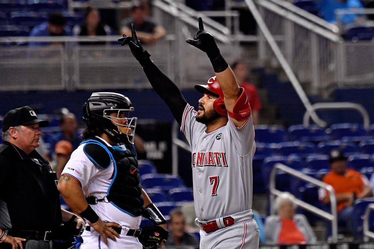 MLB: Cincinnati Reds at Miami Marlins