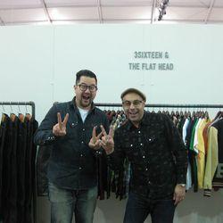 The Self Edge team. At left, co-owner Andrew Chen. At right, founder Kiya Babzani.