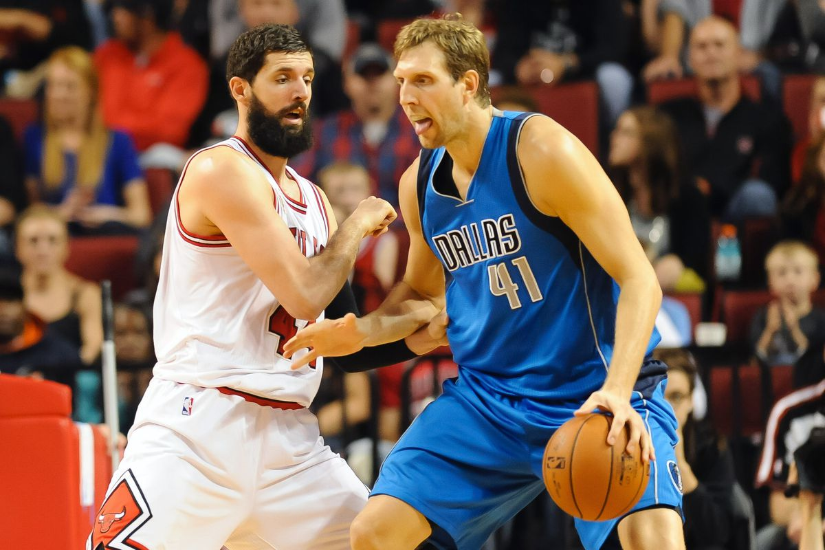 NBA: Preseason-Dallas Mavericks at Chicago Bulls