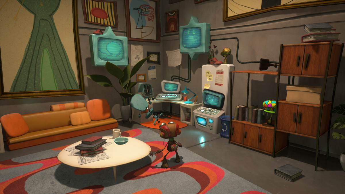 The Psychonauts' office at HQ