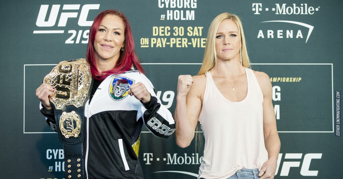 Image result for Cris Cyborg vs. Holly Holm
