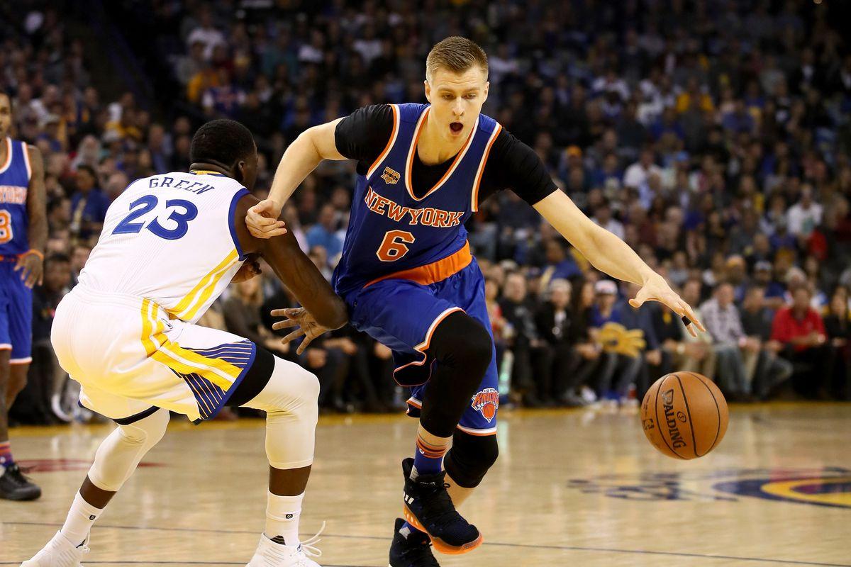 New York Knicks v Golden State Warriors