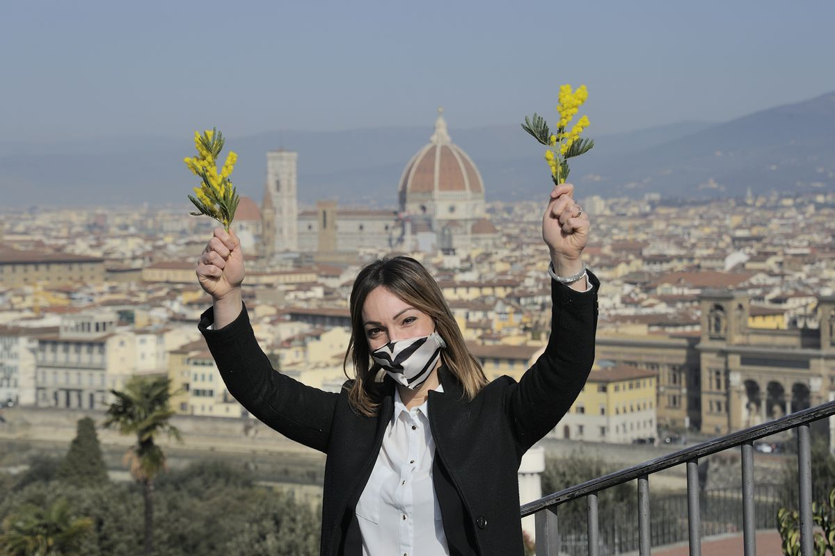 International Women's Day In Florence