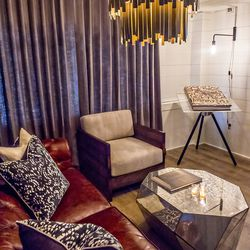 The lounge inside Cape Dutch.
